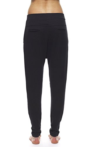 Onepiece Whatever - Pantalon de sport - uni - Fille Bleu (Black)