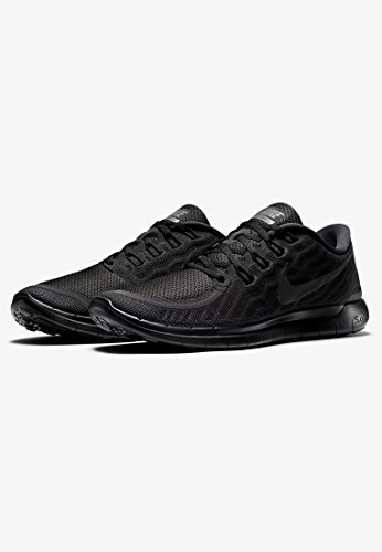 Nike Free 5.0, Chaussures de Sport Homme Schwarz