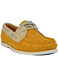 Rockport Rockport BONNIE PERF BOAT - Náuticos de Piel para mujer Amarillo Butterscotch M Amarillo Butterscotch Talla:4,5 UK