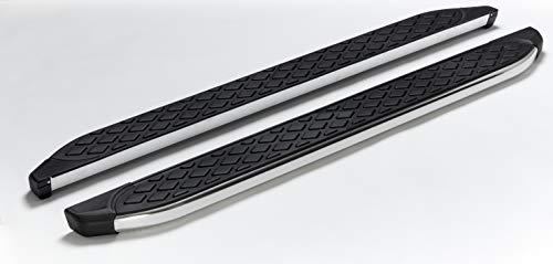 Trittbretter passend für Opel Mokka und Mokka X ab Baujahr 2012 Hitit Chrom mit TÜV und ABE
