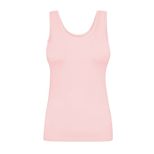Assoluta Damen Tank Top, Größe XL, rosa Quartz -
