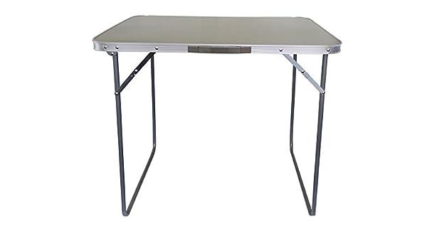 Grey Strider Single Folding Table 80x60x70cm