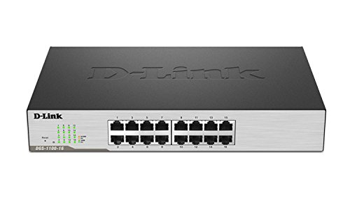 16-port 10/100/1000 Switch  available at amazon for Rs.13952