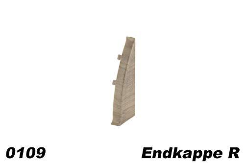Kabelkanal 40 x 40mm Endst/ück Zubeh/ör Abschluss PVC Installationskanal Endkappe Montage