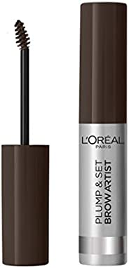 L'Oréal Paris Makeup Mascara Sopracciglia Formula Waterproof No Transfer, 108 Dark Brun