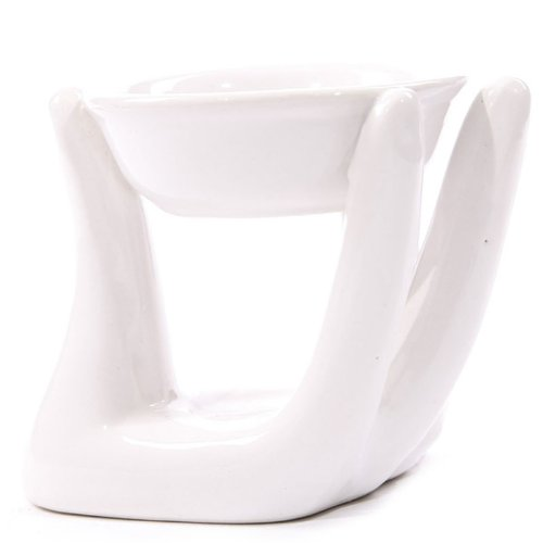 Puckator-OB123B-Handmade-Ceramic-Oil-Burner-White-10-x-10-x-95-cm