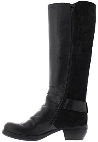 Fly London Miss141fly, Stivali da Equitazione Donna Nero (Black)