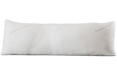 PureComfort Sarah verstellbar Füllen Körper Kissen-Geschreddertes Hypoallergen certipur Memory Foam mit geschütztem waschbar Cooling Flow Bezug -
