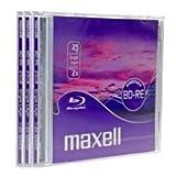 Maxell BD-RE 25GB BD-RE 3pièce (S)–Scheiben Jungfrauen Ray (BD-RE, 25GB, 2x, 2x, Schmuckschatulle, 3Stück (S))