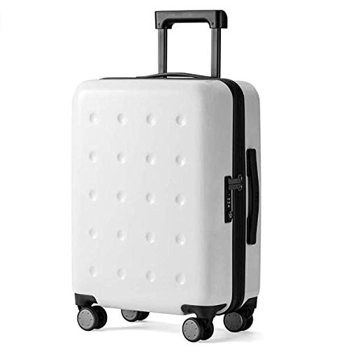 Mayanyan Business Cabin Gepäck Boarding Koffer,PC Hartschale Trolley Rollkoffer,Kratzfest Höhenverstellbar 4 Farben-TSA-Passwortsperre(Size : 50X36.5X21.5CM)