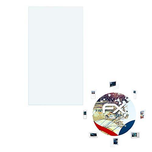 atFolix Schutzfolie kompatibel mit HP Notebook 15-db0701ng Panzerfolie, ultraklare & stoßdämpfende FX Folie (2X)