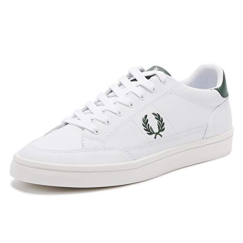 Fred Perry Baskets Deuce Leather Homm