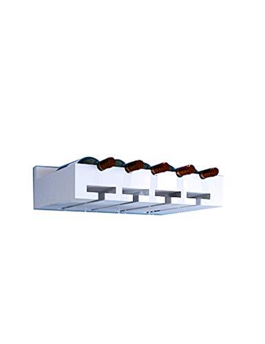 Hjtdrhjtyj portabottiglie e porta bicchiere da parete, retro in legno massello e accessori da bar arredamento da cucina, legno di pino, multi-formato opzionale