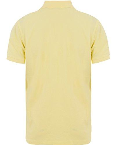 GANT 1601.002202 Polohemd mit kutzen Ärmeln Harren Gelb - Hellgelb