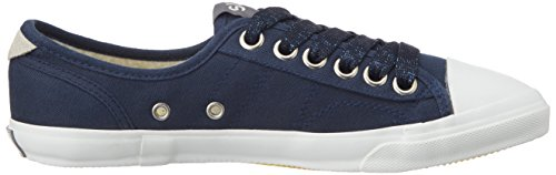 Superdry Low Pro Damen Sneaker Blau Blue