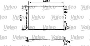 Valeo 730934 Radiateur, refroidissement du moteur