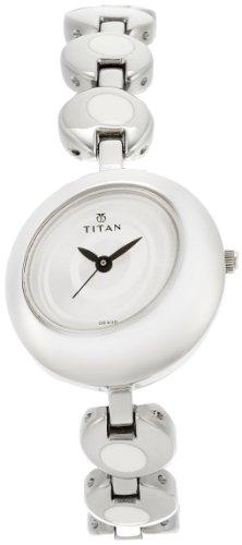 3152Sde7SxL - Titan NE2485SM01 Youth Silver Women watch
