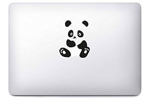 Panda par i-Sticker : Stickers autocollant MacBook Pro Air décoration ordinateur portable Mac Apple