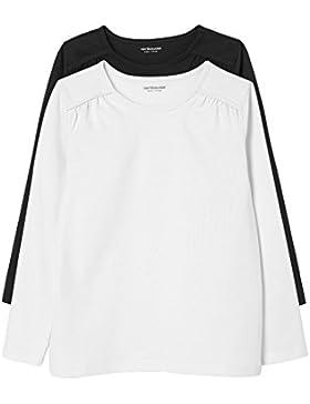 Vertbaudet - Camiseta de manga larga - Básico - Cuello redondo - para niña