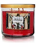 Bath & Body Works Holiday 3 Wick Scented Candle