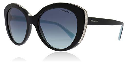 Tiffany TF4151 80019S Black TF4151 Cats Eyes Sunglasses Lens Category 2 Size 54mm