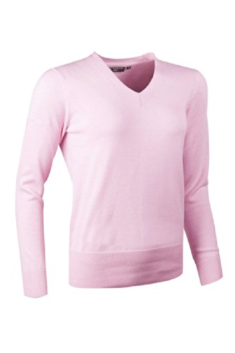 glenmuir-ladies-yasmin-supersoft-cotton-v-neck-golf-sweater-in-15-colours-s-candy