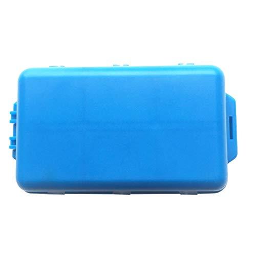 Wawer Tragbare 7-Geteilte Pille Box,Compartment Pille Dispenser Box Elektronische Medikamente Erinnerung für Käufer Mann ältere Kind - Pille-dispenser-timer