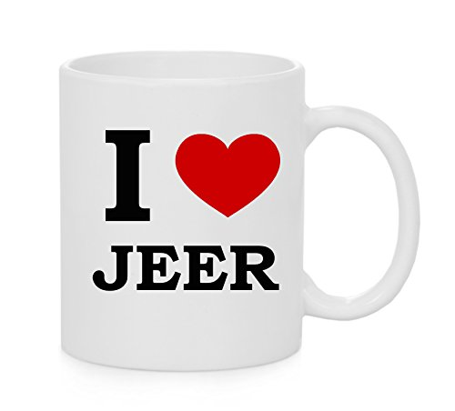 I heart Jeer ( Love ) Mug ufficiale
