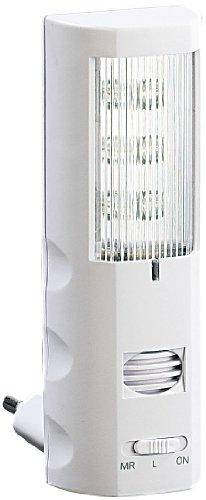 Lunartec LED Mückenstecker: Steckdosen-Nachtlicht mit Ultraschall Mückenstecker (Insektenabwehr)