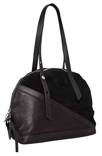 Liebeskind Berlin Damen Hebowlins Sucmva Bowling Tasche, Schwarz (Black), 15x27x32 cm