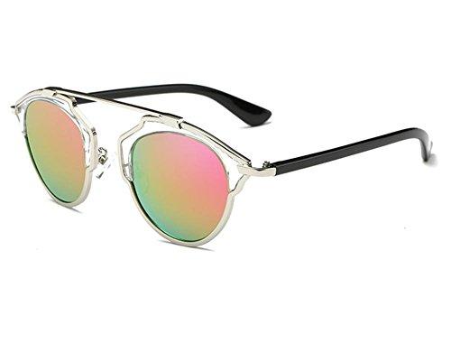GZD Lunettes de soleil Fashion Trend Love You green pink