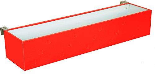 REINKEDESIGN Design Jardinière Matériau de haute qualité et Beste verarbeitung| balcon | Pot de fleurs Anthracite Blanc Marron rouge Rot