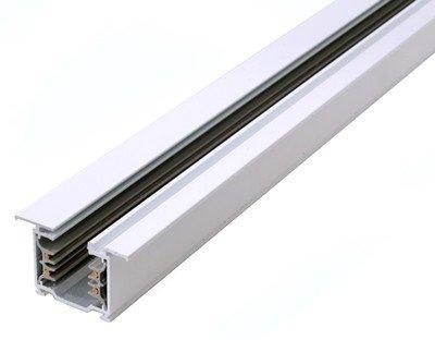 Dekolight 3-phasen Stromschiene3m Wei Einbau Mit Flgel von Deko-Light