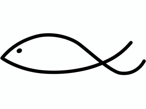Knorr Prandell 211801104 Knorr prandell 211801104 Stempel aus Holz (Kommunion & Konfirmation) Motivgröße 5 x 1,5 cm , Motiv: Fisch modern