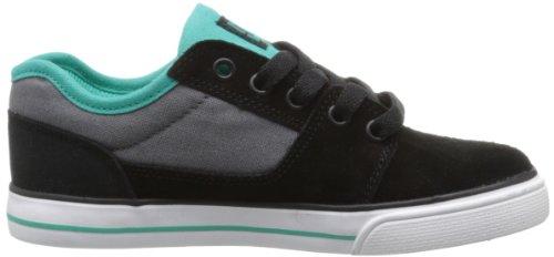 DC BRISTOL B SHOE KBU, Sneaker unisex bambino Blakc/Deep Ultramarine