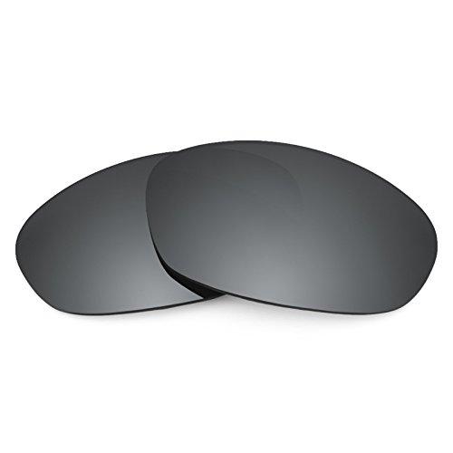 Revant Polarisiert Ersatzlinsen für Oakley Twenty XX (2012) Schwarz Chrom MirrorShield®