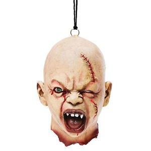 Zombie Baby Schädel abgerissener Kopf Halloween