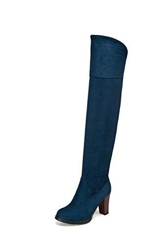 BalaMasa , Bottes Motardes femme Bleu