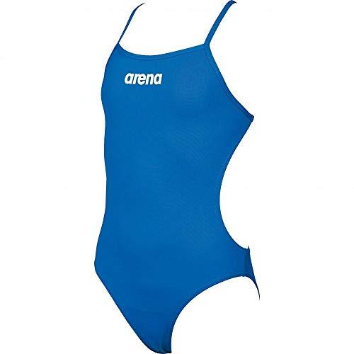 Arena Arena Solid Lightech Junior - Schwimmanzug Mädchen, Farbe:blau, Größe:116