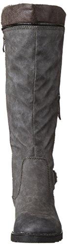 Marco Tozzi Damen 26601 Langschaft Stiefel Grau (Grey Antic 212)
