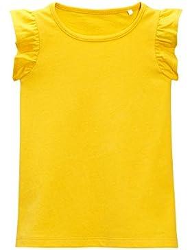 next Niñas Camiseta Sin Mangas Con Volantes (3 Meses-6 Años) Estándar
