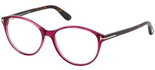Tom Ford Damen FT5403 075 52 Brillengestelle, Pink (FUCSIA LUC),