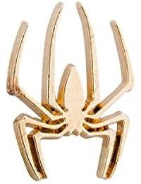 Knighthood Golden Spider Lapel Pin / Brooch For Men