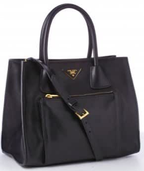 Prada - Leather Structured Handbag