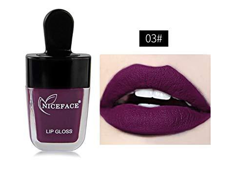 Keyi le Qualität Ice Cream Lipgloss Matte langlebige Lippenstift Cup Lip Gloss