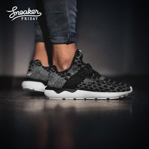 "Herren Sneaker ""Tubular Runner"" Schwarz Weiß"