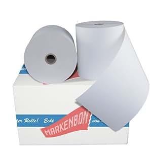3 x HIOPOS hIOPOSplus papier thermique 80/80 originale markenbon hIOPOS thermo bonrollen thermo mètres  80  80lfm x 80 mm lot de 3 rouleaux de papier de 80 x 80 cm