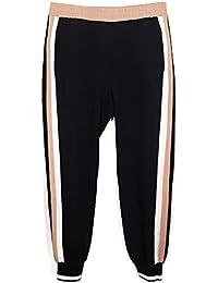 417e42c6 Zara Women's Jogging Trousers with Side Stripes 5039/023 Black