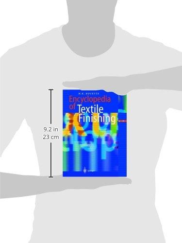 Encyclopedia of Textile Finishing Set with CD-ROM
