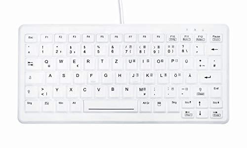 Active Key AK-C4110F-U1-W/GE Kleine Hygiene Tastatur, USB Weiß
